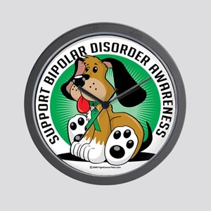 Bipolar-Disorder-Dog Wall Clock