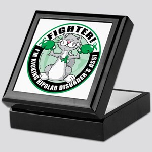 Bipolar-Disorder-Cat-Fighter Keepsake Box