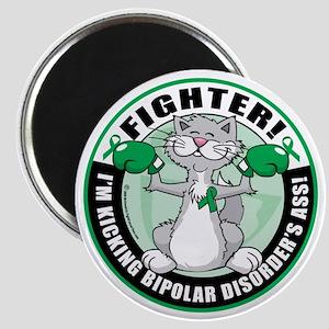 Bipolar-Disorder-Cat-Fighter Magnet