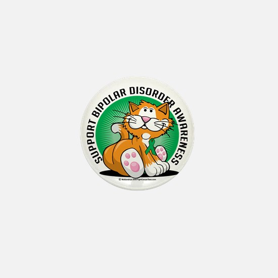Bipolar-Disorder-Cat Mini Button