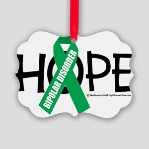 Bipolar-Disorder-Hope Picture Ornament
