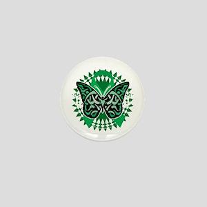 Bipolar-Disorder-Butterfly-Tribal-2-bl Mini Button