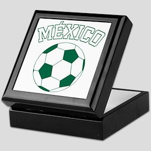 soccerballMX1 Keepsake Box