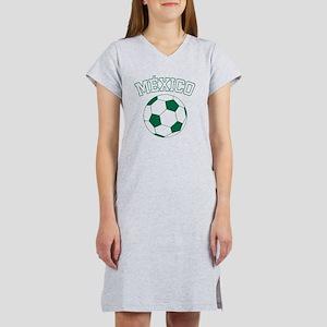 soccerballMX1 Women's Nightshirt