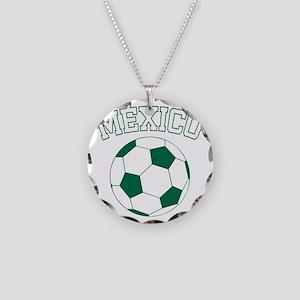 soccerballMX1 Necklace Circle Charm