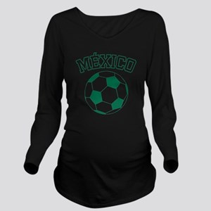 soccerballMX1 Long Sleeve Maternity T-Shirt