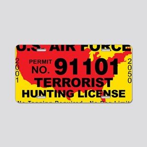 TH-License-AIR-FORCE Aluminum License Plate