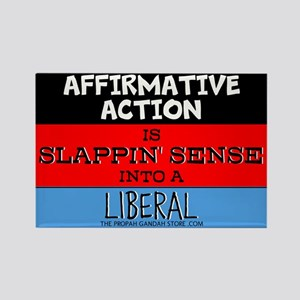 Affirmative Action is slappin' sense Magnets