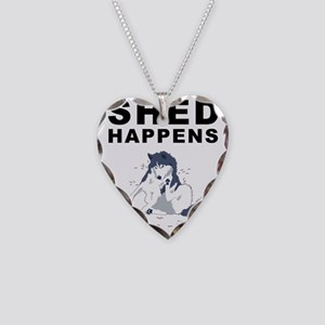 shed_tshirt_light Necklace Heart Charm