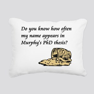 DoYouKnow_ShirtFront Rectangular Canvas Pillow