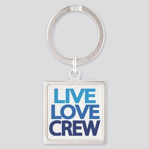 live-love-crew Square Keychain