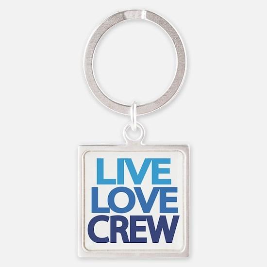 live-love-crew Square Keychain