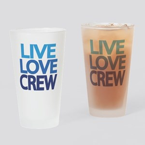 live-love-crew Drinking Glass