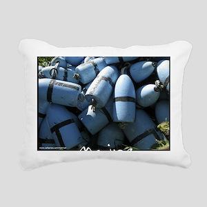 bluebuoyMEME Rectangular Canvas Pillow