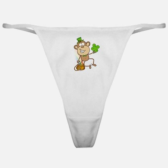 Leprechaun Monkey Classic Thong