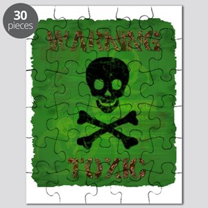 Toxic warning shirt Puzzle