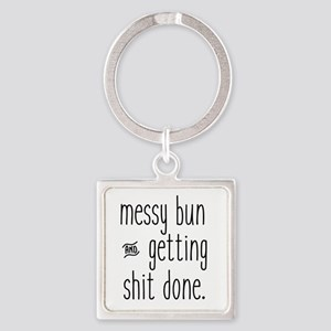Messy Bun Keychains
