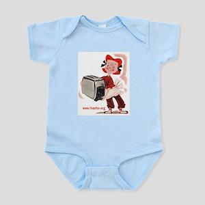 Toaster Girl Infant Creeper