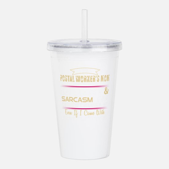 This Postal Worker Mom Acrylic Double-wall Tumbler