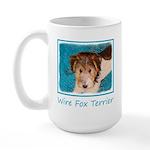 Wire Fox Terrier Puppy 15 oz Ceramic Large Mug