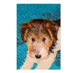 Wire Fox Terrier Puppy Postcards (Package of 8)