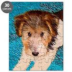 Wire Fox Terrier Puppy Puzzle