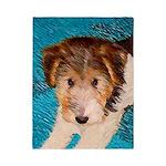 Wire Fox Terrier Puppy Twin Duvet Cover