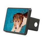 Wire Fox Terrier Puppy Rectangular Hitch Cover