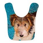 Wire Fox Terrier Puppy Polyester Baby Bib