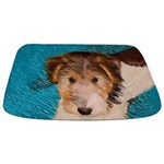 Wire Fox Terrier Puppy Bathmat