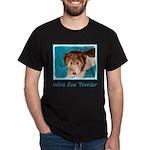 Wire Fox Terrier Puppy Dark T-Shirt