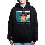 Wire Fox Terrier Puppy Women's Hooded Sweatshirt