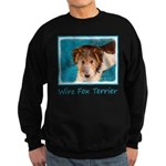 Wire Fox Terrier Puppy Sweatshirt (dark)