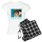 Wire Fox Terrier Puppy Women's Light Pajamas