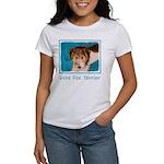 Wire Fox Terrier Pup Women's Classic White T-Shirt
