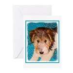 Wire Fox Terrier Puppy Greeting Cards (Pk of 10)
