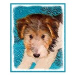 Wire Fox Terrier Puppy Small Poster