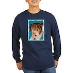 Wire Fox Terrier Puppy Long Sleeve Dark T-Shirt