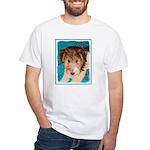 Wire Fox Terrier Puppy White T-Shirt