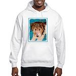 Wire Fox Terrier Puppy Hooded Sweatshirt
