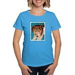 Wire Fox Terrier Puppy Women's Dark T-Shirt
