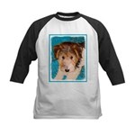 Wire Fox Terrier Puppy Kids Baseball Tee