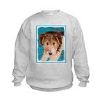 Wire Fox Terrier Puppy Kids Sweatshirt