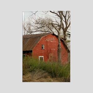 Old Barn Set Rectangle Magnet