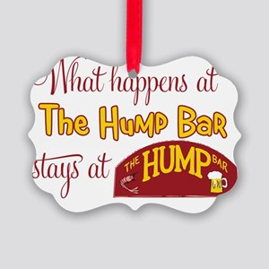 WhatHappensAtTheHumpBar Picture Ornament