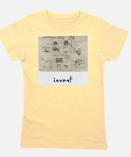 Invent Girl's Tee