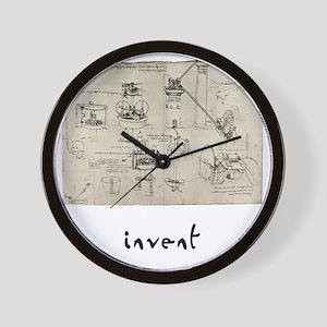 Invent Wall Clock