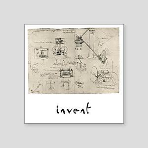 """Invent Square Sticker 3"""" x 3"""""""