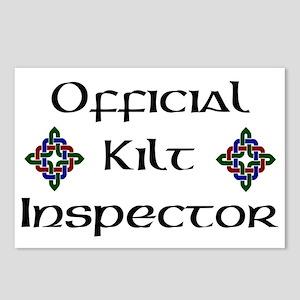 Kilt Inspector Postcards (Package of 8)
