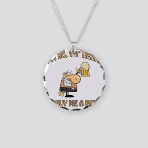 BEER80 Necklace Circle Charm